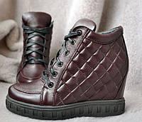 Модные сникерсы осень-весна/зима кожаные разные цвета AV0004 36