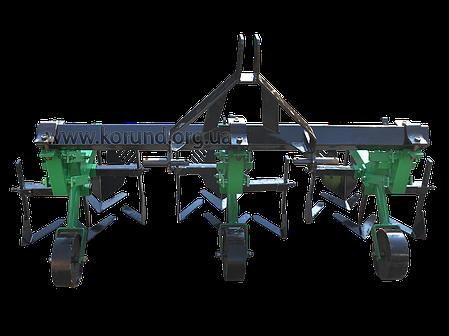 Культиватор тракторный междурядной обработки с окучниками, фото 2