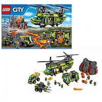 Lego City Грузовой Вертолёт Исследователей Вулканов 60125