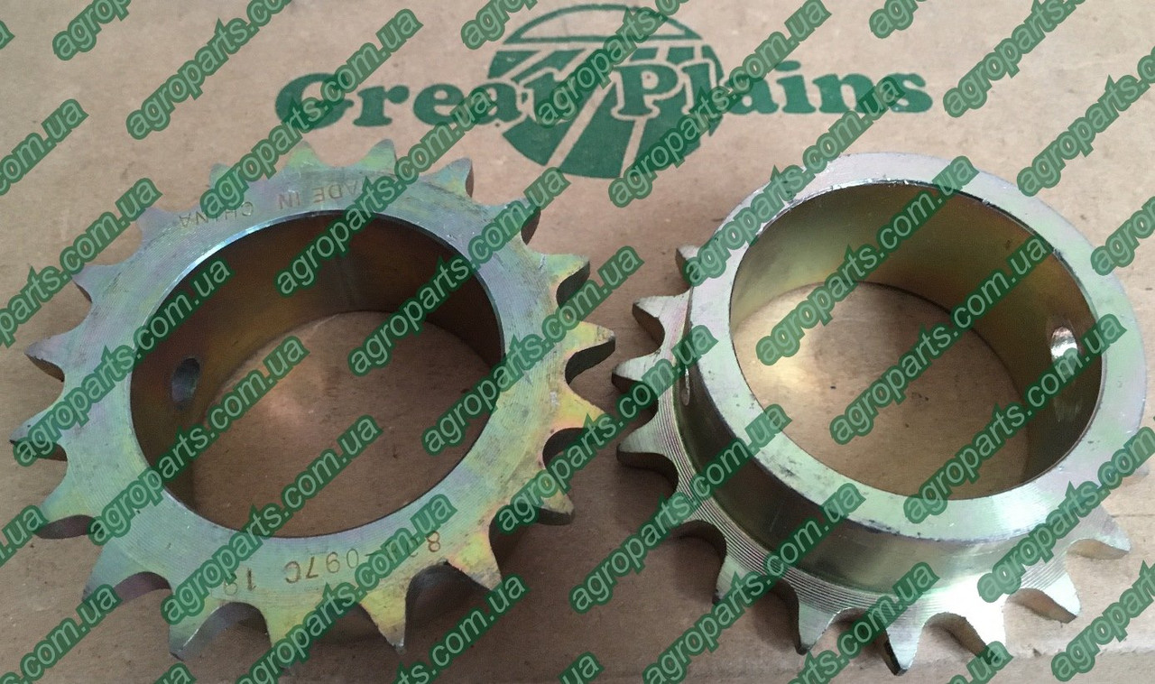Звёздочка 808-097C Great Plains 120-238D запчасти SPROCKET 808-097с GP