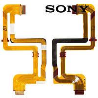 Шлейф для цифровой видеокамеры Sony HDR-HC1E, для дисплея (оригинал)