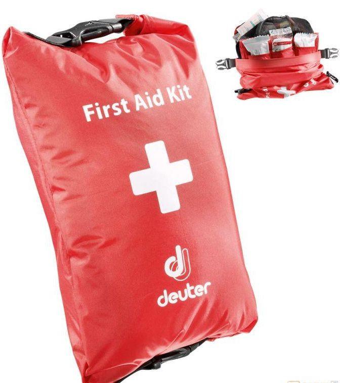 Туристическая аптечка DEUTER First Aid Kid DRY M 39260 (49263) 505  цвет красный