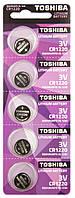 Батарейка литиевая Toshiba CR1220