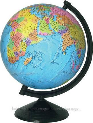 Глобус политический 220 мм на украинском языке., фото 2
