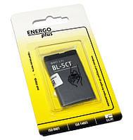 Аккумулятор (батарея) Nokia BL-5CT, Enegro Plus, 1050 mAh (3720, 5220, 6303, 6303i, 6730, C3, C5-00, C6-01)