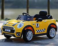 Детский электромобиль Mini Cooper M 3182 EBR-6  желтый ***