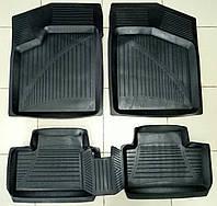 Коврики автомобильные для ВАЗ LADA 2108,09,99,13,14,15 резиновые с бортами