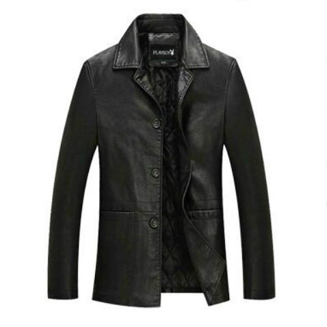 Мужская кожаная куртка. Модель 2012
