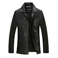 Мужская кожаная куртка. Модель 2012, фото 1