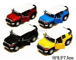 "Машинка KINSMART ""Toyota FJ Cruiser"" (желтая)"