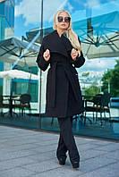 Демисезонное пальто женское в 2х цветах LuxLook Воротник 375-376