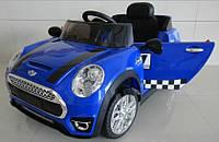 Детский электромобиль Mini Cooper M 3182 EBR-4, синий***