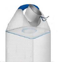 Мешок биг-бэг 90х90х120, 1 стропа, плотность 120г/м2, с загрузочным люком