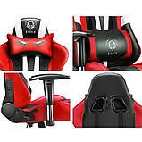 Ігрове крісло DIABLO X-EYE чорно - синє, фото 6