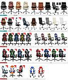 Ігрове крісло DIABLO X-EYE чорно - синє, фото 10