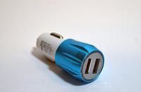 Автомобильное зарядное устройство на 2 USB Smart Mini, USB авто зарядка