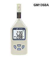Термогигрометр Benetech GM1360A (Т: от -30 °С до 80 °С: RH:от 0 % до 100 %), USB-интерфейс, точка росы , фото 1