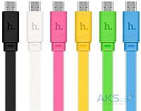 Кабель USB Hoco X5 Bamboo Micro 1M Black