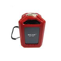Портативная bluetooth колонка MP3 WSA-608 Red