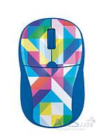 Компьютерная мышка Trust Primo (21480) blue geometry, фото 1
