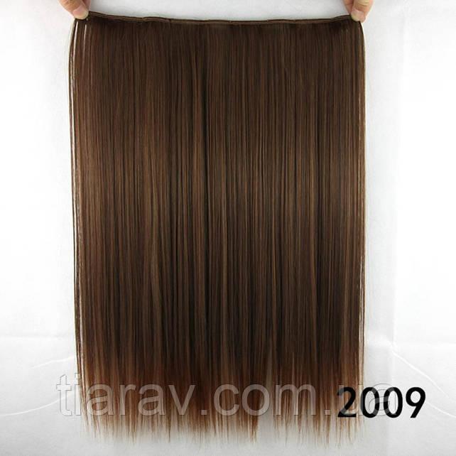 Волосы на заколках 45 см ТЕРМОСТОЙКИЕ светлый шатен русый