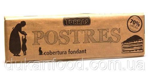 TORRAS Чёрный шоколад\Postres Dark 70% Cacao, 300г