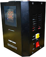 Стабилизатор напряжения Luxeon LDW-1000 (600Вт) черный, фото 1