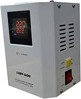Стабилизатор напряжения Luxeon LDW-1000 (600Вт) белый