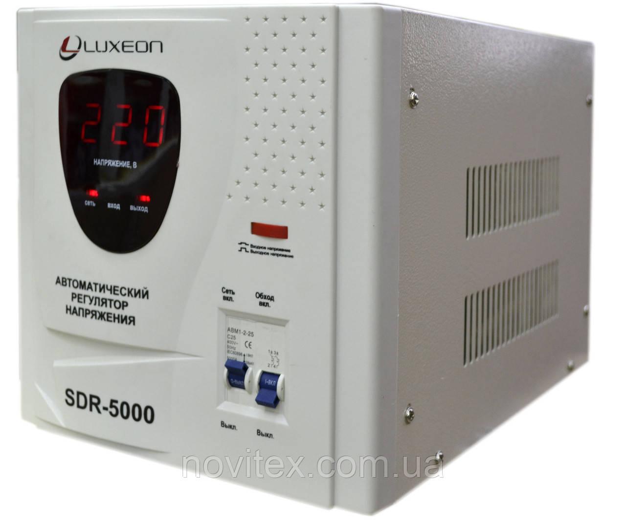 Стабілізатор напруги Luxeon SDR-5000VA (3500 вт)