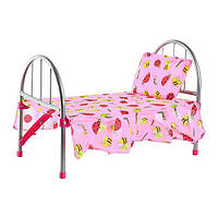 Кроватка для кукол железная