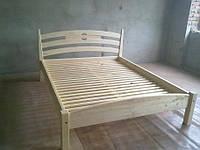 Двуспальная кровать  из дерева