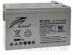 Аккумулятор мультигелевый  RITAR RT1270 12V 7Ah