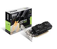 Видеокарта GeForce GTX1050, MSI, 2Gb DDR5, 128-bit, DVI/HDMI/DP, 1455/7008 MHz, Low Profile (GTX 1050 2GT LP)