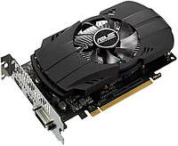 Видеокарта GeForce GTX1050, Asus, 2Gb DDR5, 128-bit, DVI/HDMI/DP, 1455/7008 MHz (PH-GTX1050-2G)