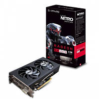 Видеокарта Radeon RX 460 OC, Sapphire, 2Gb DDR5, 128-bit, DVI/HDMI/DP, 1216/7000MHz, Single Fan (11257-10-20G)