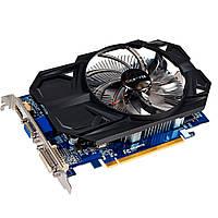 Видеокарта Radeon R7 350 OC, Gigabyte, 2Gb DDR3, 128-bit, VGA/DVI/HDMI, 9700/1600MHz (GV-R735OC-2GI)