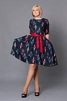Платье женское МЕЛАНИ, размеры 48 50 52  (В.Л.Н)