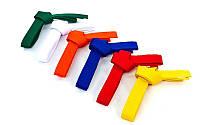 Пояс для кимоно Champion желтый UR CO-4073(5)(7)((6)(4) (хлопок, полиэстер, l-260см-300см)