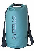 Рюкзак водонепроницаемый Safebag Green 20L