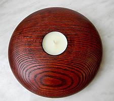 Дерев'яний свічник, чудовий дизайн, ручна робота, натуральне дерево