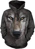 3D-толстовка THE MOUNTAIN-WOLF FACE (унисекс)