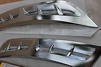 Хромированные накладки на передние колесные арки воздухоотводов