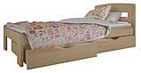 """Односпальная кровать """"Ирис мини"""" с ящиками (массив бука), фото 9"""