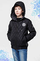 Ультрамодная стеганая подростковая куртка