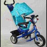 Детский трехколесный велосипед ЛЕКСУС  BC-17B +Фара -накачка СИНИЙ