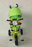 Детский трехколесный велосипед ЛЕКСУС  BC-17B +Фара -накачка КРАСНЫЙ,СИНИЙ,РОЗОВЫЙ