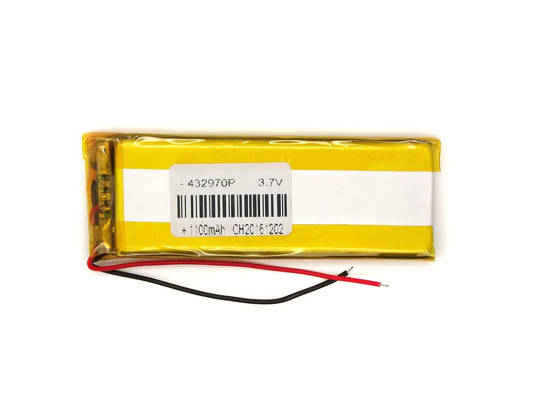 Аккумулятор 1100мАч 402970 3,7 в универсальный для китайских телефонов 1000mAh 3.7v 4*29*76 мм