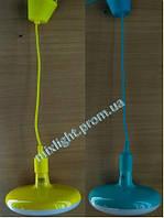 Led cветильник подвесной желтый Sembol 12W Horoz Electric