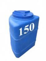 Емкость вертикальная угловая 150 литров