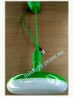Светодиодный зеленый подвесной светильник led Sembol 12W Horoz Electric